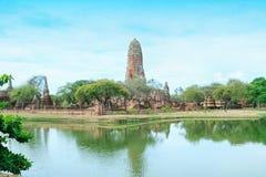 Pagoda à la ville antique, Ayutthaya image libre de droits