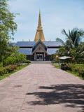 pagoda входа 9 конца к Стоковая Фотография RF