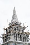 Pagoda в виске Таиланда Стоковое Изображение RF