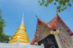 Pagoda в виске стоковые фотографии rf