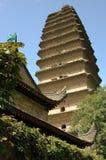 pagoda одичалое XI гусыни фарфора Стоковое фото RF