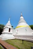 pagoda Таиланд mai chiang золотистый Стоковые Фотографии RF