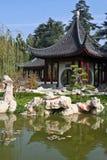 Pagoda. White Stone Pagoda with Tile Roof Stock Photo