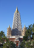 Pagoda. In Pattaya, Thailand. morning light Stock Photography