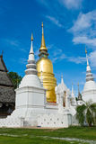 Pagoda. Thai temple,north of Thailand Stock Image