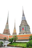 Pagoda. The pagoda at wat pho, bangkok , thailand Royalty Free Stock Photos