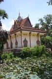 Pagoda. Buddhist Pagoda near Keps, Cambodia Royalty Free Stock Photo