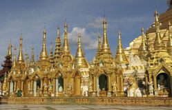 Pagoda 2 di Shwedagon Fotografia Stock Libera da Diritti