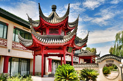 Pagoda. Traditional Classic Chinese style pagoda Stock Image
