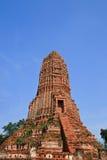 Pagoda. In thai temple at Ayuttaya royalty free stock photos