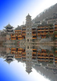 Pagoda. The pagoda of phoenix xiangxi hunan china Stock Image