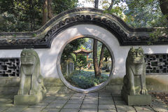 pagoda 6 сработанностей сада стоковое фото rf