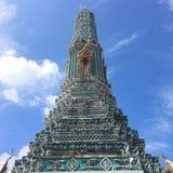 Pagoda al grande palazzo a Bangkok Tailandia immagine stock libera da diritti