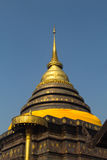 Pagoda al pratartlumpangluang di Wat, Lumpang Tailandia Immagini Stock Libere da Diritti