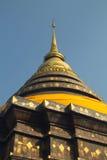 Pagoda al pratartlumpangluang di Wat, Lumpang Tailandia fotografia stock