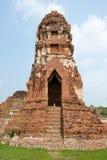 Pagoda al tempiale di Wat Chaiwattanaram, Ayutthaya, Th Fotografie Stock