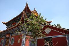Pagoda alla sorgente immagini stock