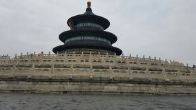 Pagoda. Ancient buildings that are still strong today Stock Photo