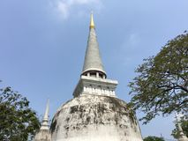 Pagoda in Ancient Siam Royalty Free Stock Photo