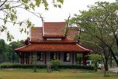 Pagoda in Ancient Siam, Bangkok, Thailand, Asia. Royalty Free Stock Photo