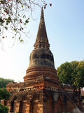 Pagoda in ancient temple Stock Photography