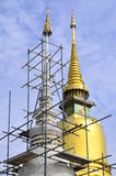 Pagoda in ancient temple at Chiangmai, Thailand. Royalty Free Stock Photos