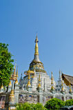 Pagoda in ancient temple at Chiangmai, Thailand. Stock Photos