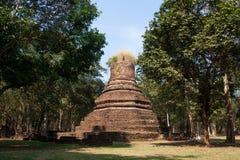 Pagoda. Ancient temples , Kamphaeng Phet Stock Image