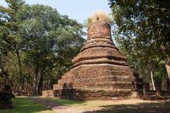 Pagoda. Ancient temples , Kamphaeng Phet Stock Photo