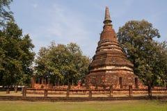 Pagoda. Ancient temples , Kamphaeng Phet Royalty Free Stock Image