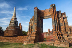 Pagoda. Ancient pagoda in Thai temple stock images
