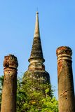 The pagoda is ancient in Thailand Stock Photo