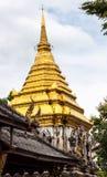Pagoda. Ancient pagoda at Wat Chiang Man , Chaing Mai ,Thailand Royalty Free Stock Photography