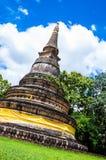 Pagoda. Ancient pagoda is 700 year old at watumong ,  Chaing mai,Thailand Royalty Free Stock Photo
