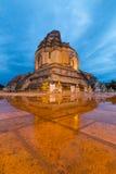 Pagoda antica al tempio di Wat Chedi Luang Immagine Stock Libera da Diritti
