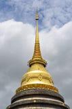 Pagoda antica di stile tailandese di Lanna fotografia stock libera da diritti