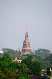 Pagoda antica tailandese Fotografie Stock Libere da Diritti