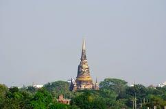 Pagoda antica tailandese Fotografia Stock