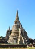 Pagoda antica in tempio tailandese Immagini Stock
