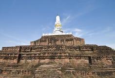 Pagoda antico in Tailandia Fotografie Stock