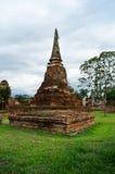 Pagoda antigua de Ayuthaya Foto de archivo libre de regalías