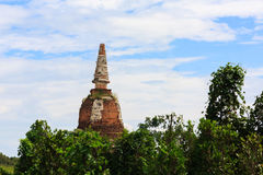 Pagoda antigua del ladrillo Imagen de archivo libre de regalías