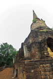 Pagoda antigua del parque de Sri Sacha Na Lai, Su Kho tailandés, Tailandia Imagenes de archivo