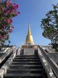 Pagoda antigua en Bangkok, Tailandia imagen de archivo