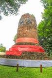 Pagoda antigua en la provincia de Lumphun, Tailandia Fotos de archivo