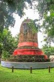Pagoda antigua en la provincia de Lumphun, Tailandia Fotos de archivo libres de regalías