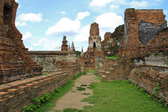 Pagoda antigua y ruinas Imagen de archivo