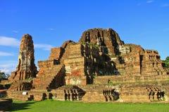 Pagoda antigua y ruinas Imagen de archivo libre de regalías