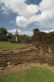 Pagoda antique en Thaïlande Photographie stock