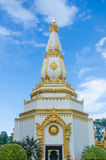 Pagoda architecture in the Northeast of Thailand. Chedi chai mongkol Royalty Free Stock Photos